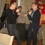 """Décembre 2009 avec Phil """"Côté-Pont"""" Pontarlier"""